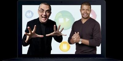 Cabral Ibacka si Vlad Petreanu, intr-un show online gandit de Rogalski-Grigoiu pentru Romtelecom