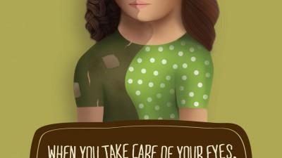 Sankara Eye Hospital - Two Faces, 1