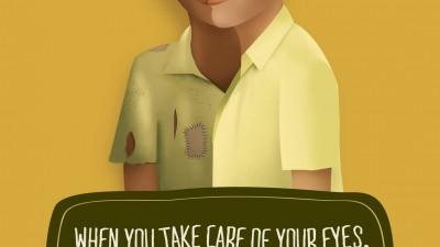 Sankara Eye Hospital - Two Faces, 2