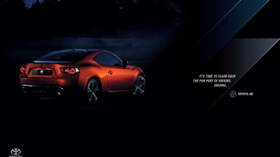 Toyota FT-86 - Driving