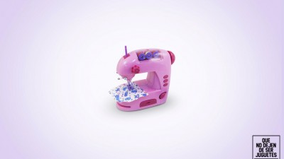 Unicef - Non stop being a toy, Sewing machine