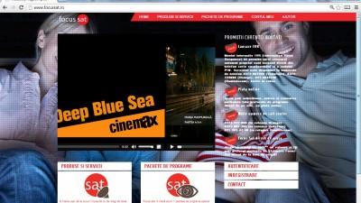 Website: FocusSat.ro - Homepage