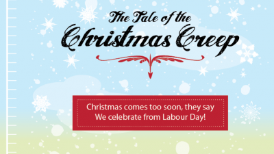 Acart Communications - Agency Christmas Card, The Tale of the Christmas Creep