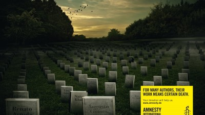 Amnesty International - Graveyard