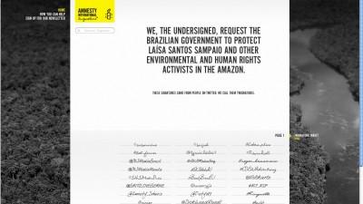 Amnesty International - Twignature