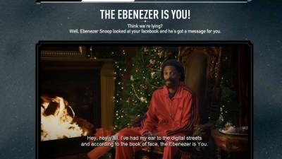 Aplicatie de Facebook: Adidas - Are you an Ebenezer