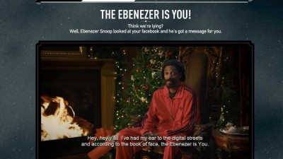 Aplicatie de Facebook: Adidas - Are you an Ebenezer