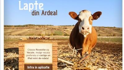 Aplicatie de Facebook: Napolact – Lapte din Ardeal