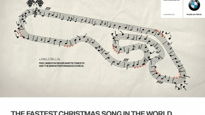 BMW Switzerland - The Fastest Christmas Song in the World