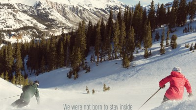 Colorado - We were not born to stay inside