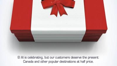 El Al Airlines - The Canada Present