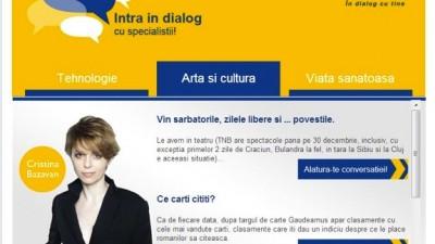Facebook Tab: Piraeus Bank Romania - Cristina Bazavan