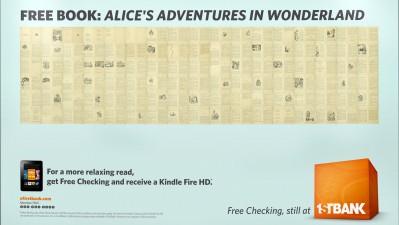FirstBank - Alice in Wonderland