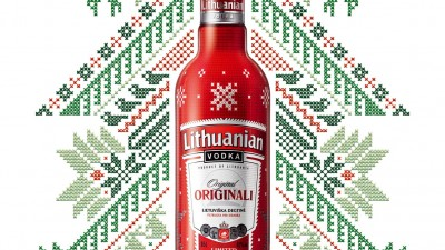 Lithuanian Vodka Original Limited Edition - Winter edition