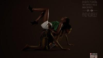 Mozambique Fashion Week - Contrast