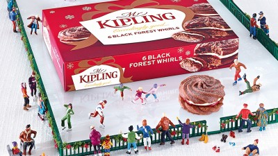 Mr Kipling - Ice Skating