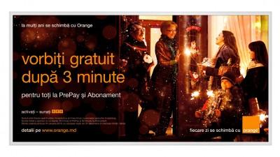 Orange Moldova - Billboard PrePay si Abonament