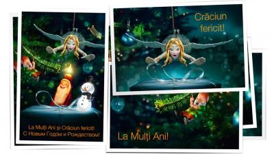 Orange Moldova - Carti postale