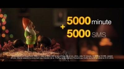 """Orange Moldova - Oferta """"5000 minute + 5000 SMS + 5000 MB timp de 1 an la conectare la Abonament"""""""