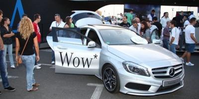 Peste 2200 de persoane prezente la Roadshow-ul Mercedes, realizat de Kaleidoscope Proximity