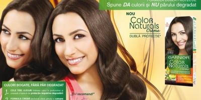Andra este protagonista campaniei Garnier Color Naturals Creme