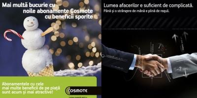 COSMOTE Romania a lansat doua noi campanii semnate de Papaya Advertising si Ogilvy&Mather