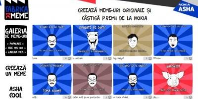 """Wunderman a deschis o """"Fabrica de meme"""" romanesti pe Facebook pentru Nokia Asha"""