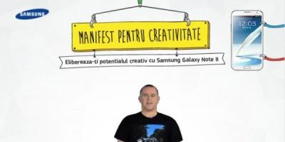 """40.000 de vizitatori unici ai aplicatiei """"Manifestul pentru creativitate"""" dezvoltate de Starcom MediaVest si Digital Star"""