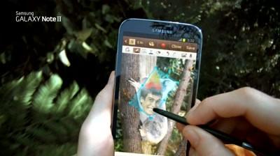 Samsung GALAXY Note II - Social Network