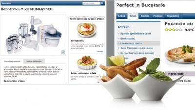 Website: BOSCH - Perfectinbucatarie.ro