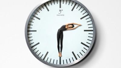 Y-Plus Yoga Center - Clock