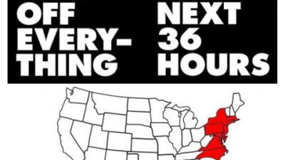 American Apparel - Hurricane Sandy Blunder