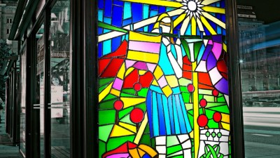Ariel Color - Stained glass windows