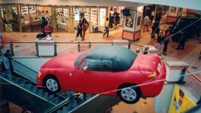 BMW - Masina gonflabila