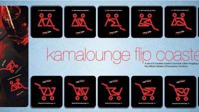 Kamasutra Condoms - Kamalounge Flip Coasters