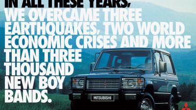 Mitsubishi Pajero Full - Boy Bands