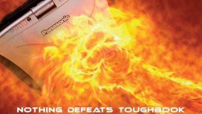Panasonic Toughbook Laptop - Fire