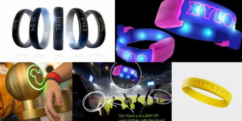 Bratari electronice care imbogatesc experienta consumatorului - Disney, Nike, Coldplay
