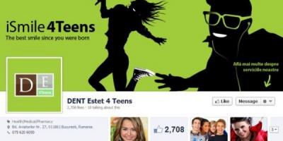 The Public Advisors a creat o comunitate online pentru tinerii din targetul DENT ESTET 4 Teens