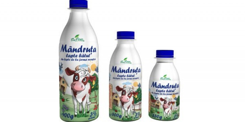 Cris-Tim intra pe piata lactatelor cu gama Mandruta