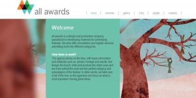 Agentia All Awards ofera servicii de creatie si productie a case-urilor pentru lucrarile de festival