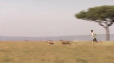 Skechers - Man versus cheetah (teaser)