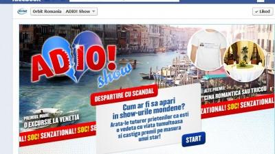 Aplicatie de Facebook: Orbit - ADIO! Show