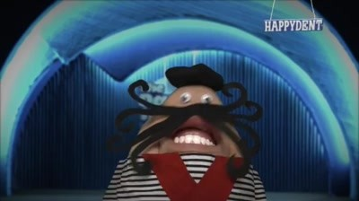 Happydent Chewing Gum - Moustache