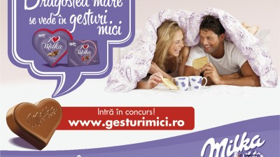 I love Milka - Dragostea mare se vede in gesturi mici (OOH)