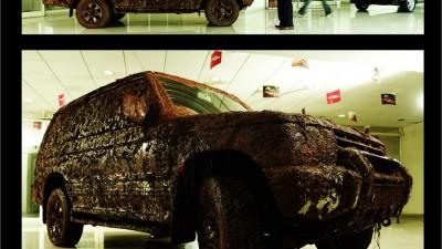 Mitsubishi Pajero - Dirty Pajero