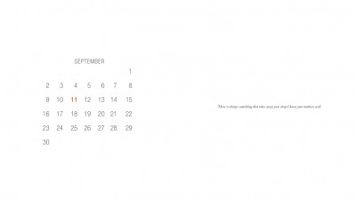 Ortobom mattress - Calendar