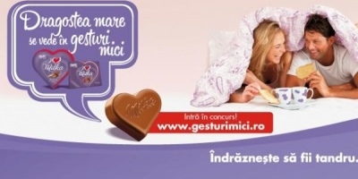 Pralinele I love Milka sarbatoresc gesturile mici de Valentine's Day