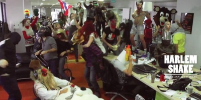 Harlem Shake-ul viral de la McCann - cum a inceput totul