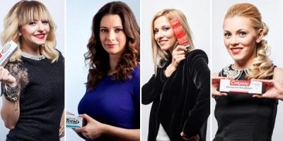 "Andreea Berecleanu, Giulia Anghelescu, Dana Rogoz si Andreea Ibacka sunt ambasadoarele campaniei Colgate ""Iubeste-ti zambetul, daruieste-i sanatate"""